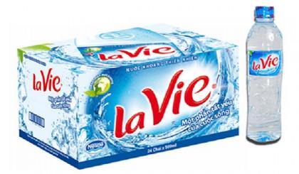 Thùng nước uống Lavie 500ml có bao nhiêu chai?