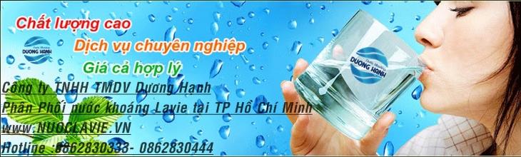 dai ly nuoc khoang lavie Binh Thanh